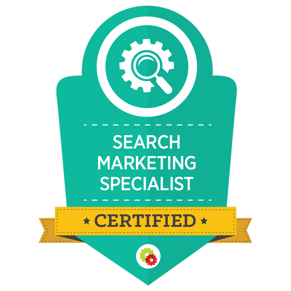 Alt Creative is a certified Search Marketing Specialist