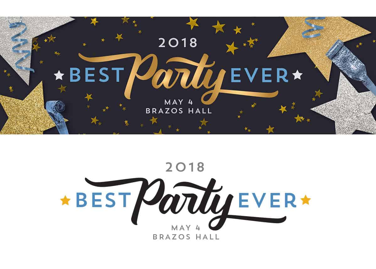 Leadership Austin Best Party Ever Logo (2018)