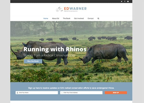 Ed Warner Website