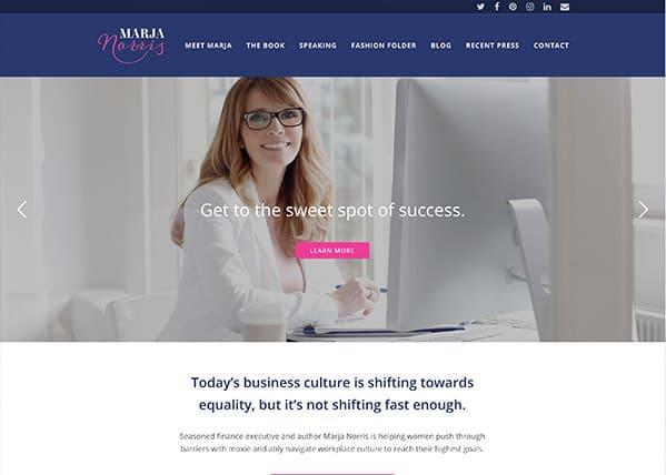 Marja Norris Website