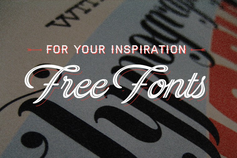 6 Free Fonts for Your Designs